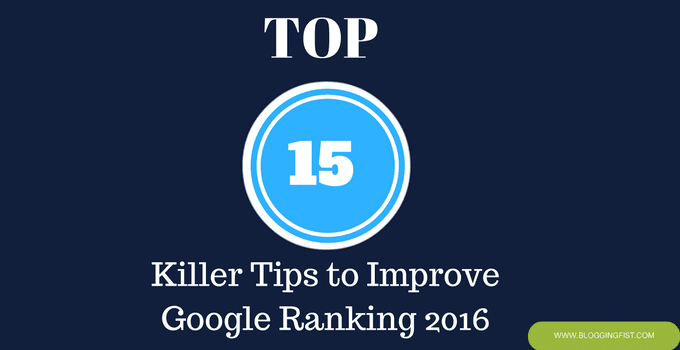 improving google ranking
