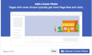 Add cover photo