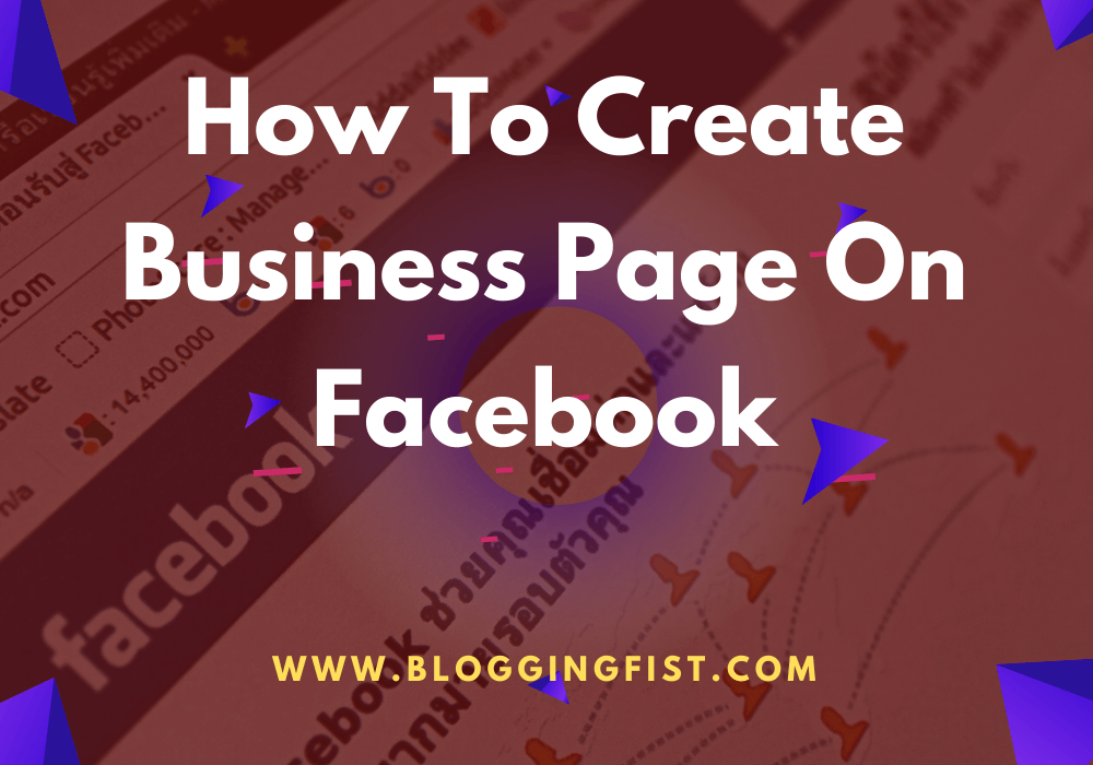 How to create a Business page on Facebook