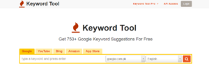 keywords tool long tails