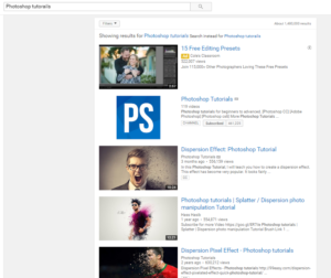 Youtube Photoshop Courses