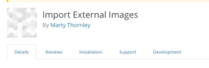 Import External Images