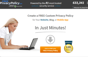 free privacy policy for your blog