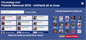 Remove Inactive Friends From Facebook Friends List