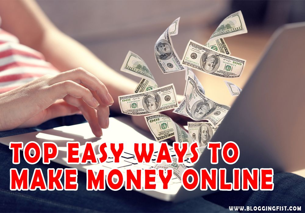 Make Money Online Easy And Fast (A Beginners Guide)