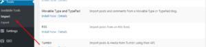 Export Contents