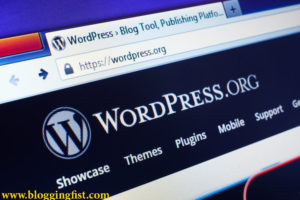 How to start a wordpress blog for free
