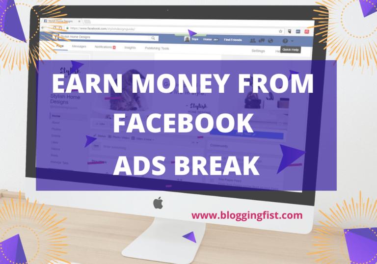 Facebook Ads Break Monetization | How to Monetize Facebook Videos