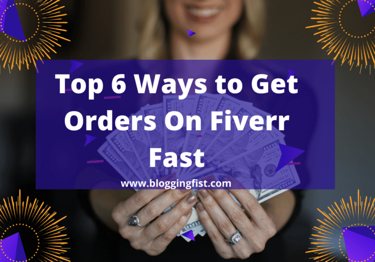 How To Get Orders On Fiverr | Make Money on Fiverr