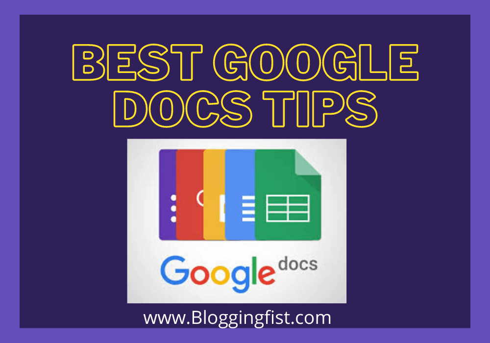 Best Google Docs Tips How to Use Google Docs Professionally