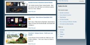 similar sites like humble bundle