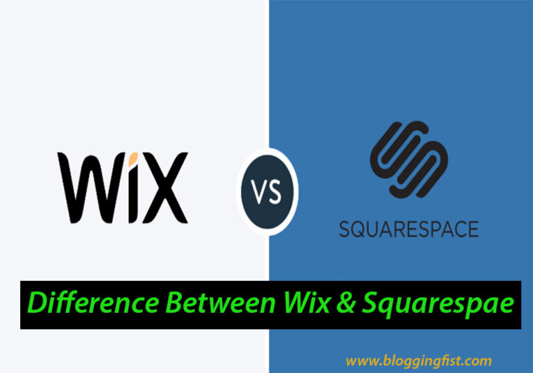 The Key Differences Between Wix & Squarespace
