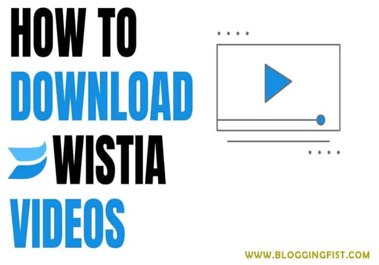 How to Download Wistia Videos [Solved]
